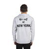 Grey Kings of New York Hoodie