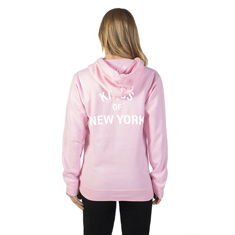 Pink Kings of New York Hoodie