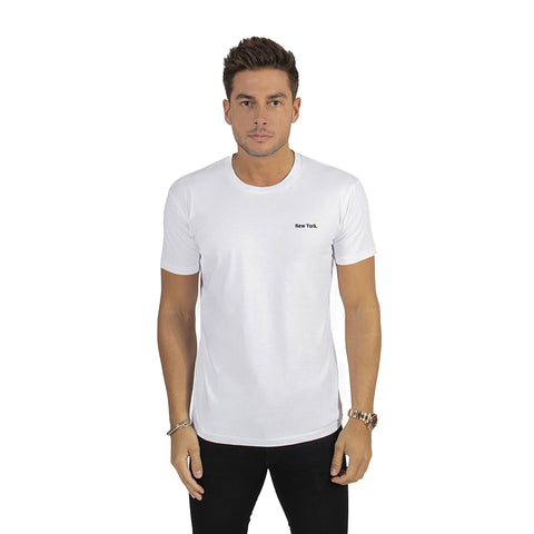 White New York T-Shirt