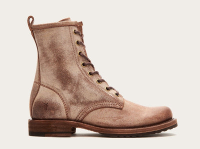 Frye Veronica Combat Chocolate - Dear Lucy