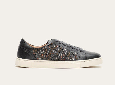Frye Ivy Deco Stud Low Lace Black - Dear Lucy