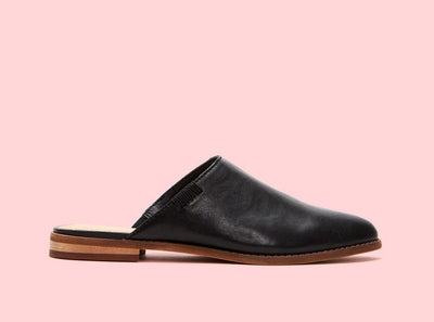Frye & Co Fenn Mule Black - Dear Lucy