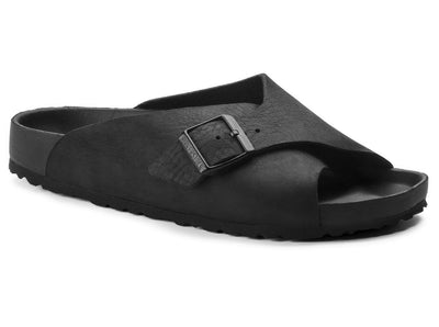 Birkenstock Arosa Exquisite Black Leather - Dear Lucy