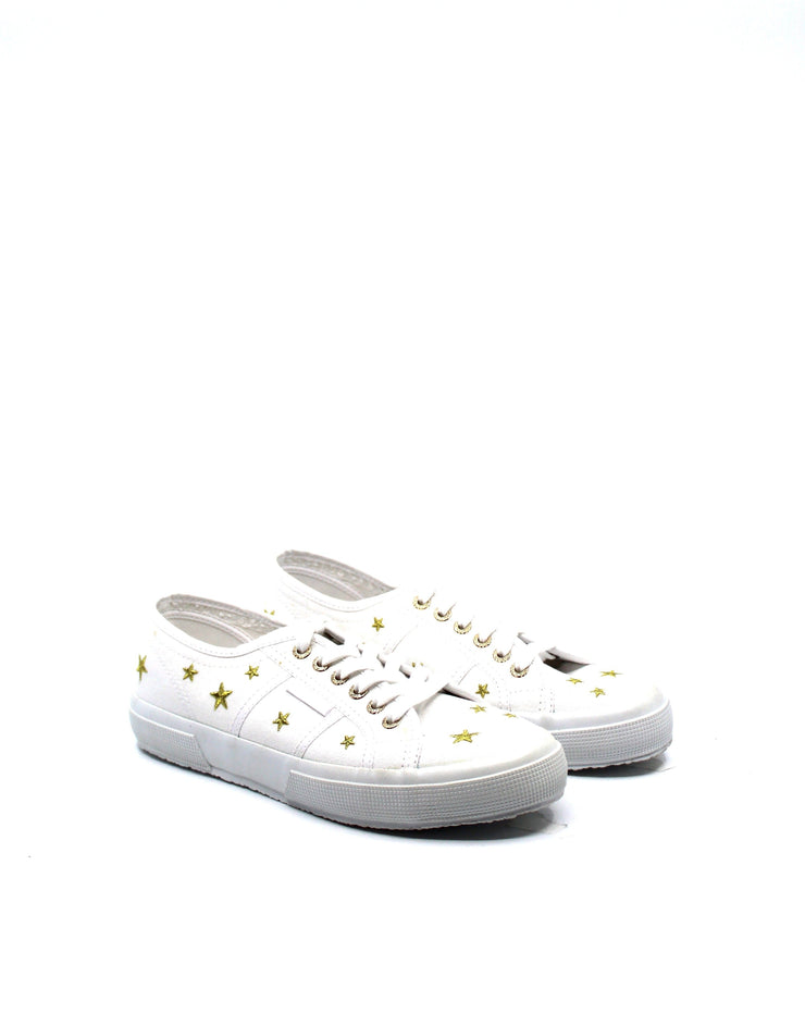 Superga 2750 White Stars - Dear Lucy