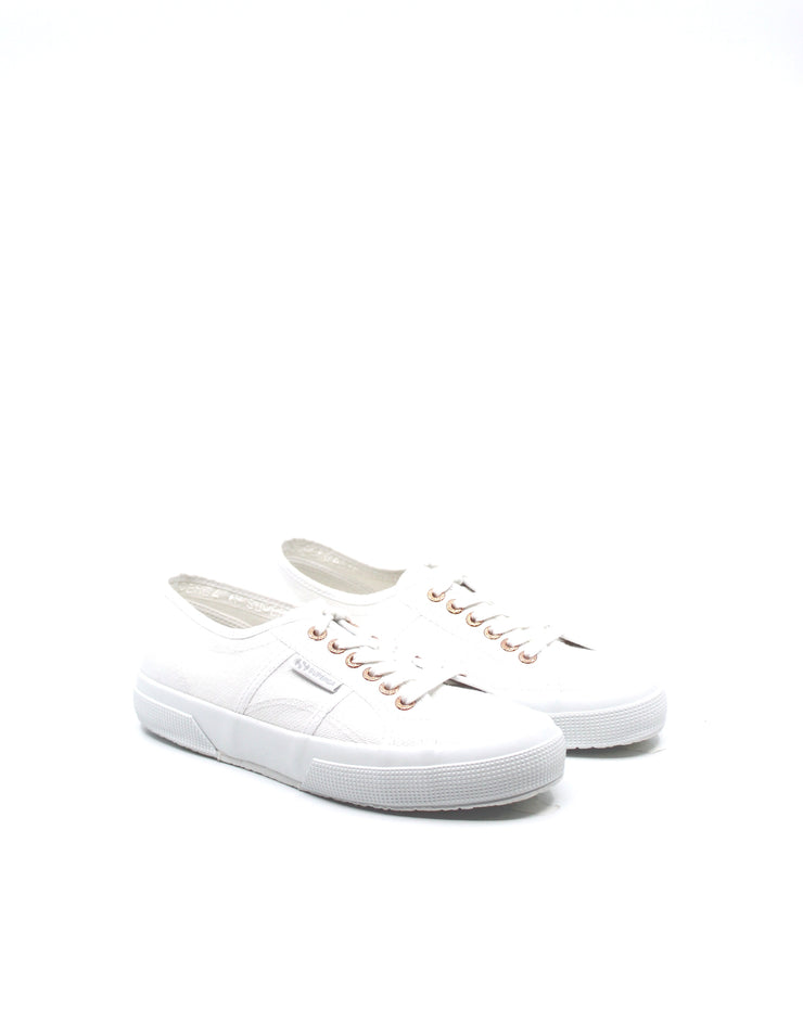 Superga 2750 Cotu Classic White/Rose Gold - Dear Lucy