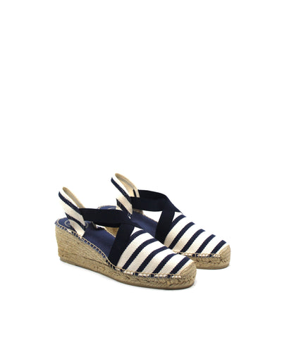 Toni Pons Tarbes Navy Stripe - Dear Lucy