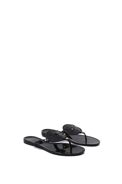Jack Rogers Georgica Jelly Black - Dear Lucy