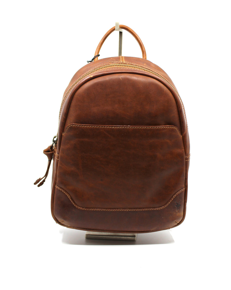 Frye Melissa Medium Backpack Cognac - Dear Lucy