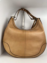 Frye Melissa Woven Scooped Hobo in Natural - Dear Lucy