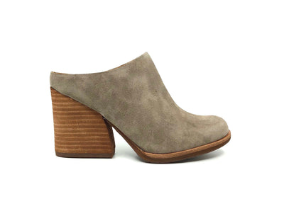 Kork-Ease Challis Taupe Suede - Dear Lucy