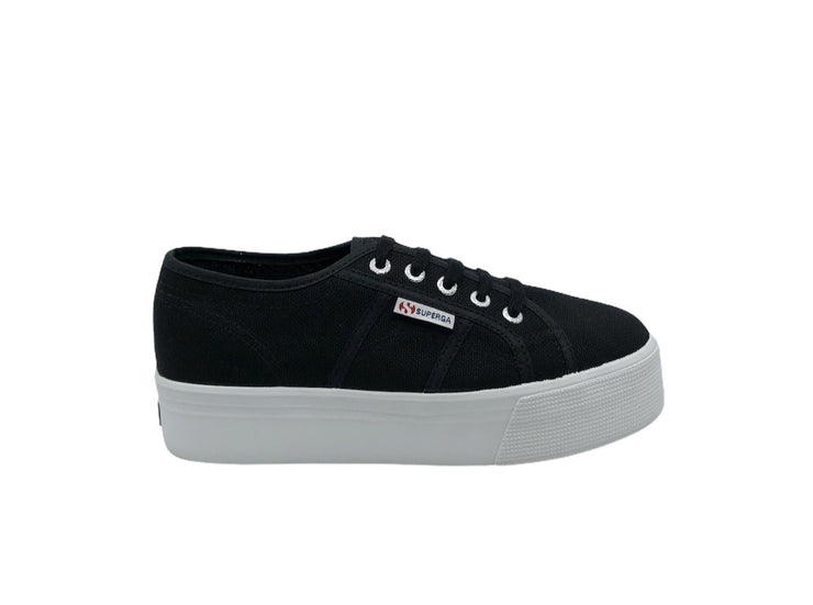 Superga 2790 Platform Black - Dear Lucy