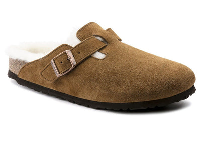 Birkenstock Boston Shearling Mink - Dear Lucy