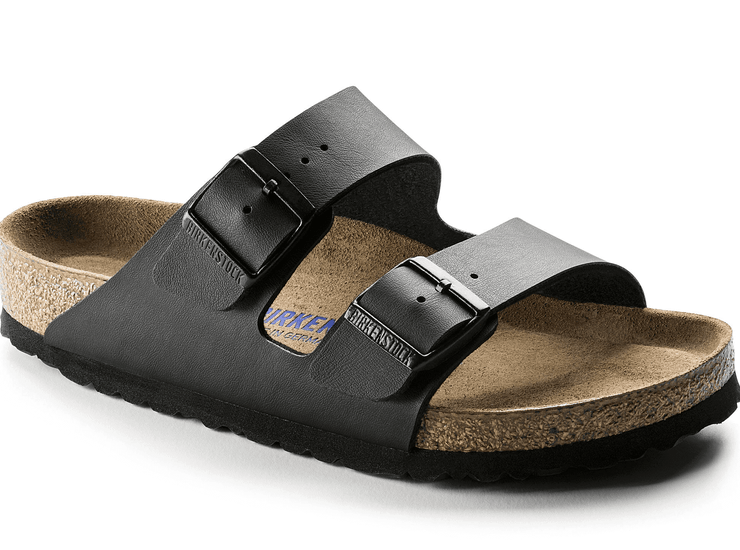 Birkenstock Arizona Black Birko-Flor Soft Footbed - Dear Lucy