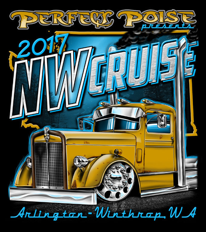 2017 Northwest Event Shirt Only (Remaining Prints)
