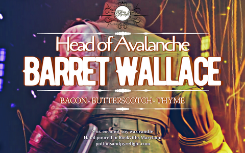 Head of Avalanche: Barret Wallace - Potions & Pyrelight
