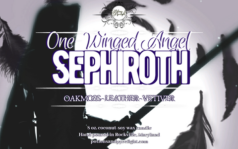 One-Winged Angel: Sephiroth - Potions & Pyrelight