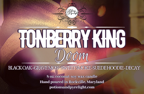 Final Fantasy Summon - Tonberry King Doom - Potions & Pyrelight