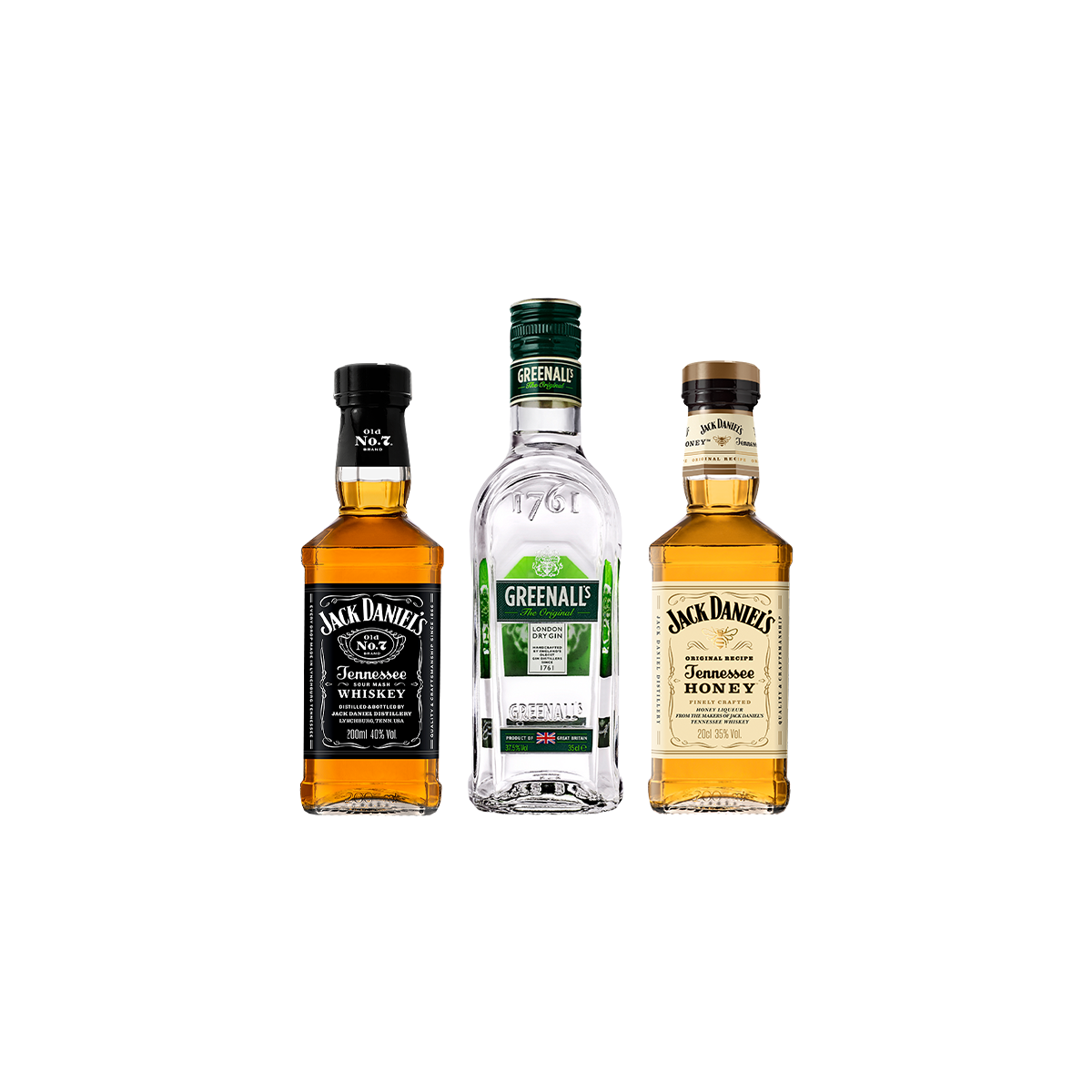 Conjunto - Mini Whiskey & Gin