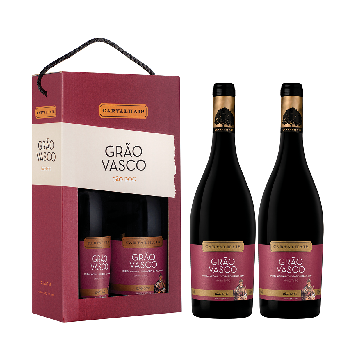 Carvalhais - Duo Pack Grão Vasco Tinto - 2019