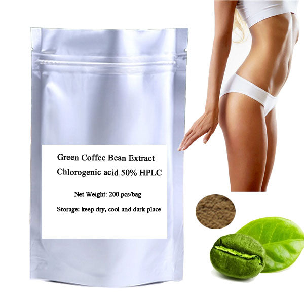 Green Coffee Bean Extract Chlorogenic Acid 50% HPLC