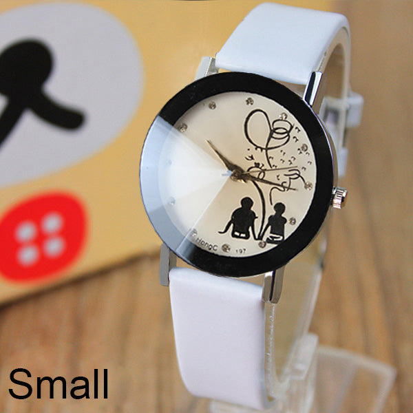 Famous Brand Lovers Cartoon Quartz-Watch