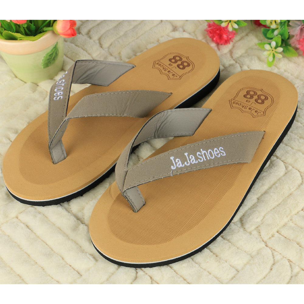 Casual Indoor & Outdoor Striped Summer Flip Flops