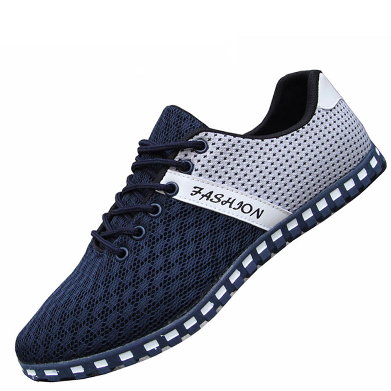 Casual Breathable Mesh Flat Shoes