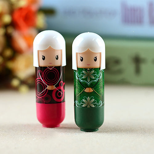 Cute Japanese Doll Clear Moisturizing Lip Balm Lipstick