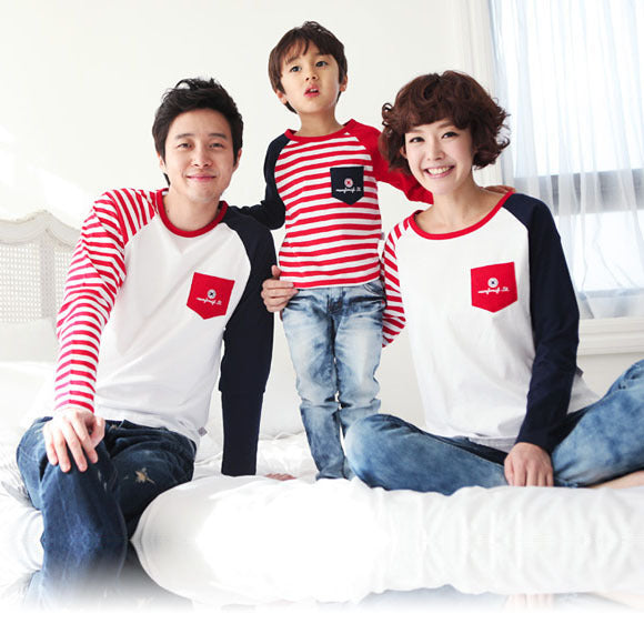 Long Sleeve T-Shirts Family Clothing