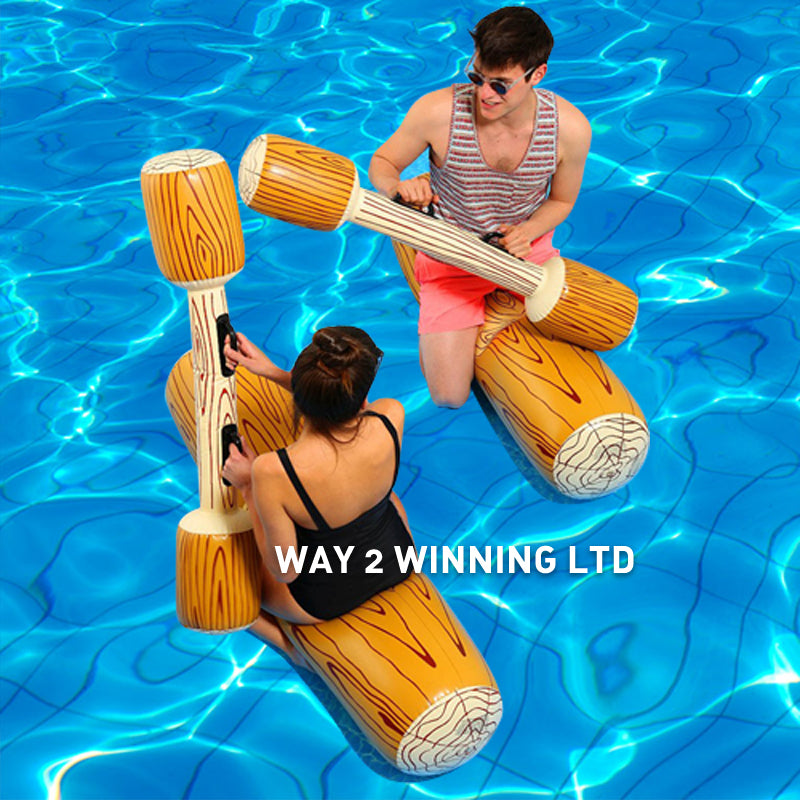 4 Pieces/Set Inflatable Joust Swimming Pool Float Game Toys