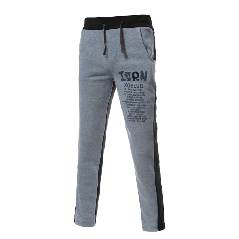 Casual Straight Cotton Jogger Sweatpants