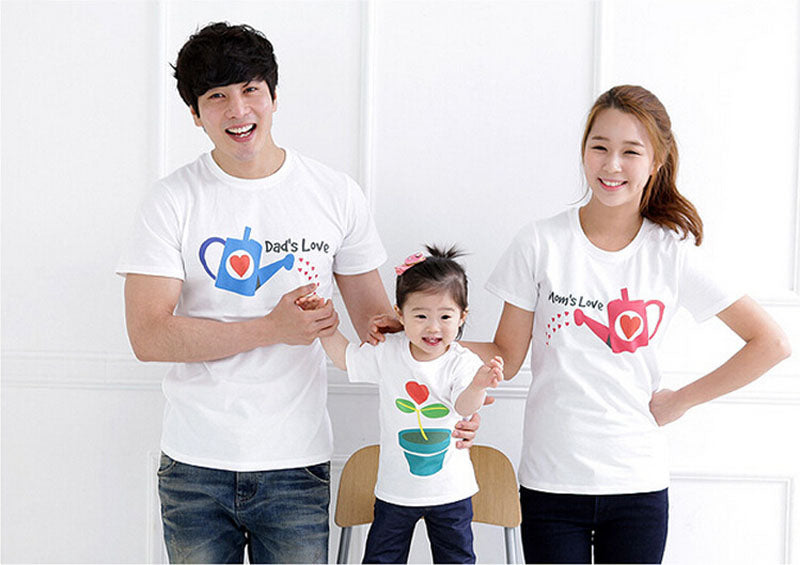 Family Set Cultivate Love Short-Sleeve T-shirt