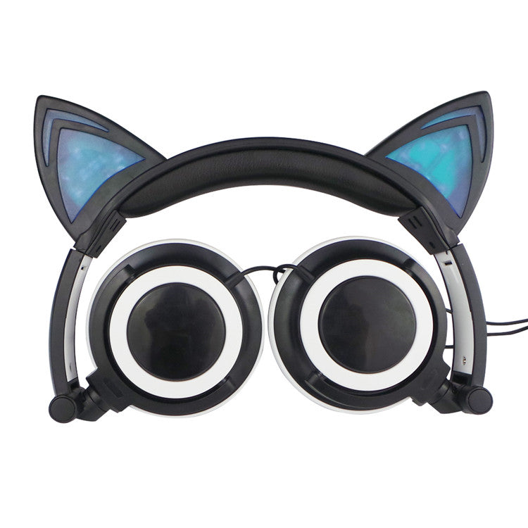 Glowing Cat Headphone with LED Light
