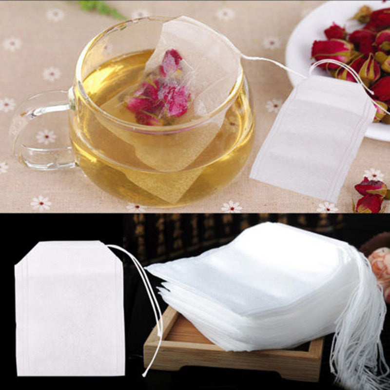 100Pcs/Lot Empty Tea Bags With String