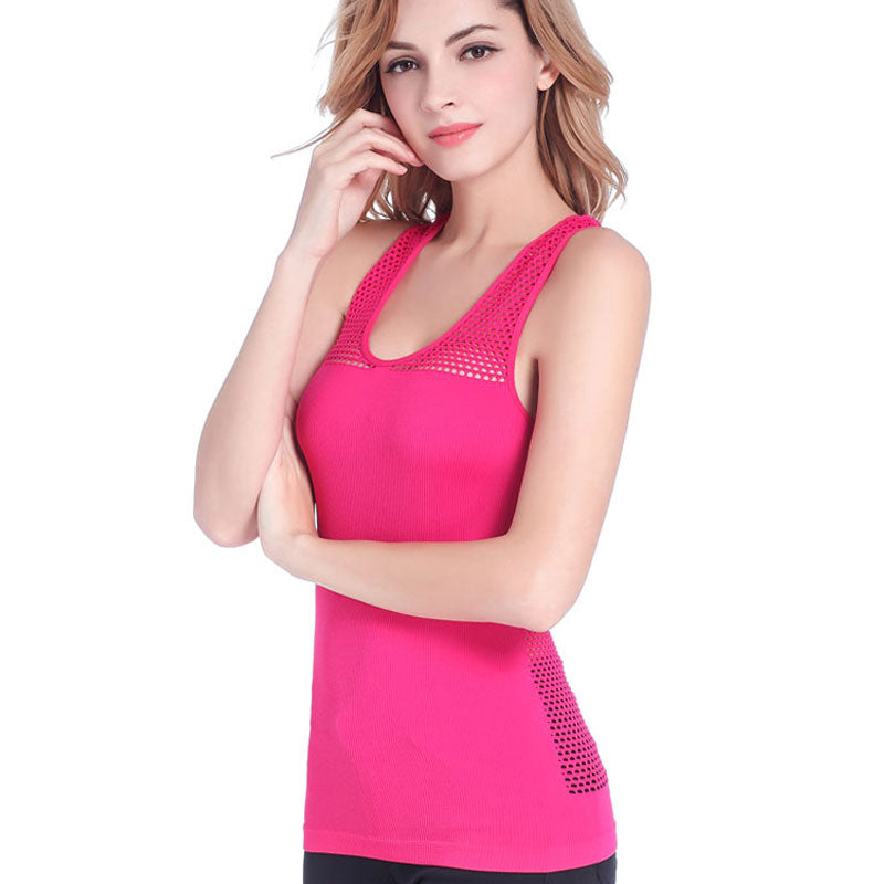 Breathable Quick Dry Sleeveless Stretching Fit Sports Tank Top