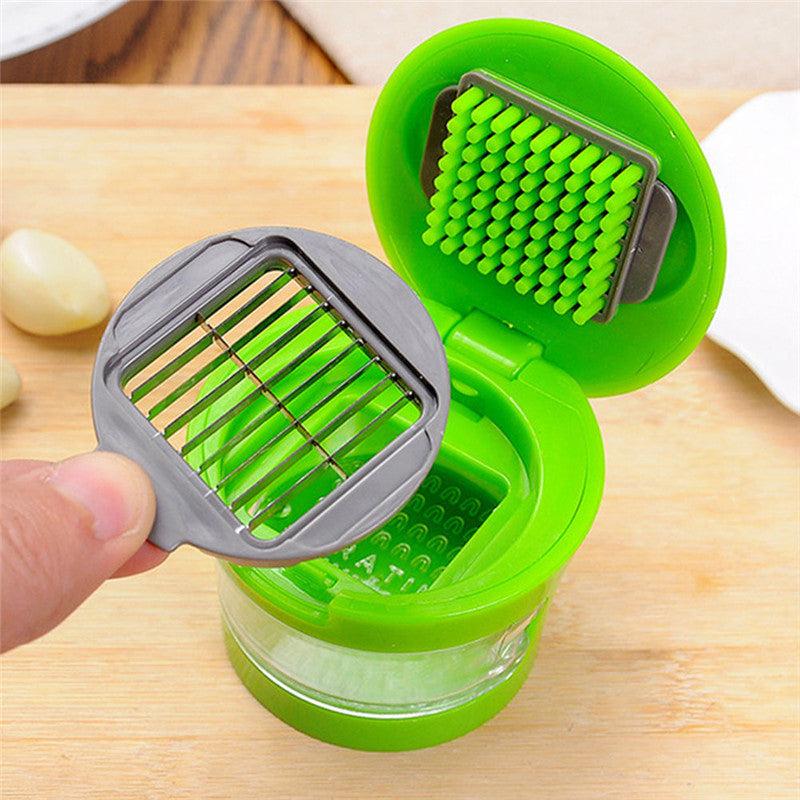 Multi-Functional Stainless Steel Garlic Chopper
