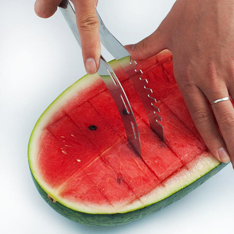 Stainless Steel Cantaloupe Cutter