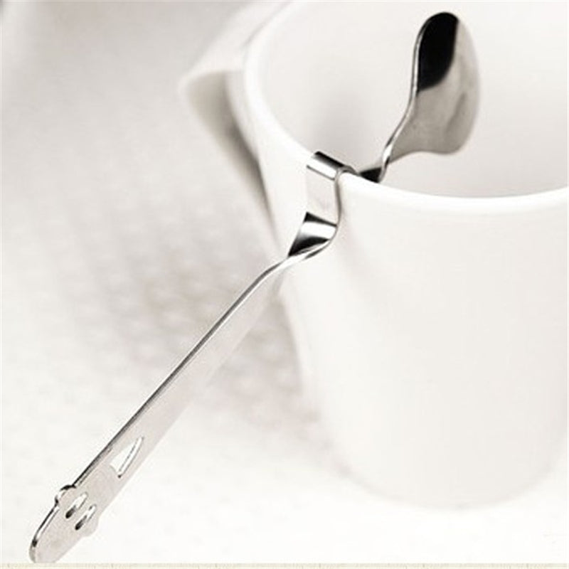 Practical Smile Spoon Tea Coffee Drink
