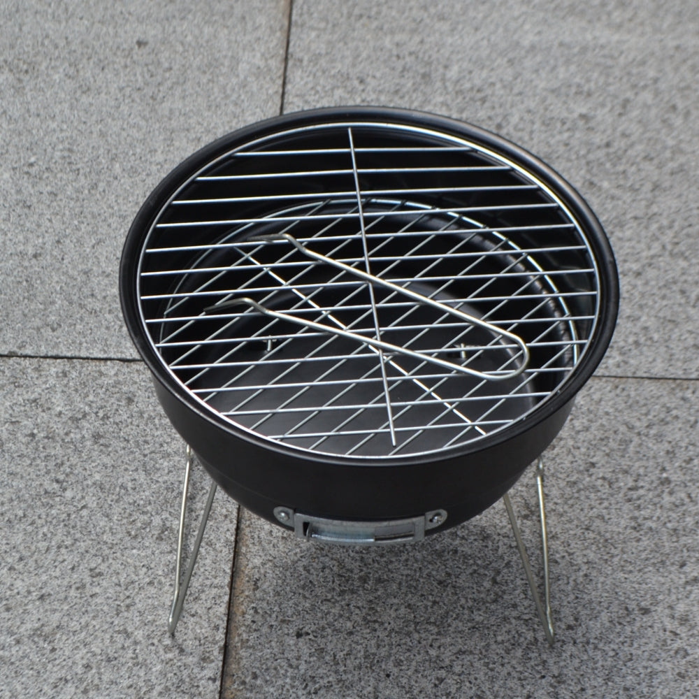 2 IN 1 Barbecue Camping Grill With Cooler Bag