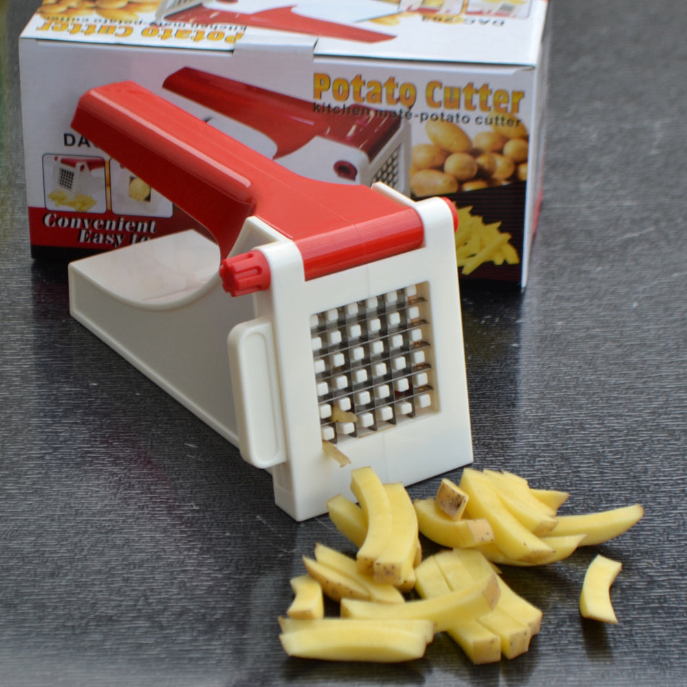Stainless Steel Blades French Potato Chips Cutter