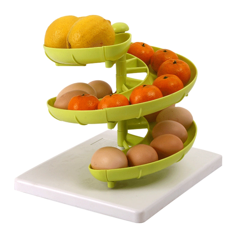 Creative Assemble Multi-function Three Layers Fruit Basket