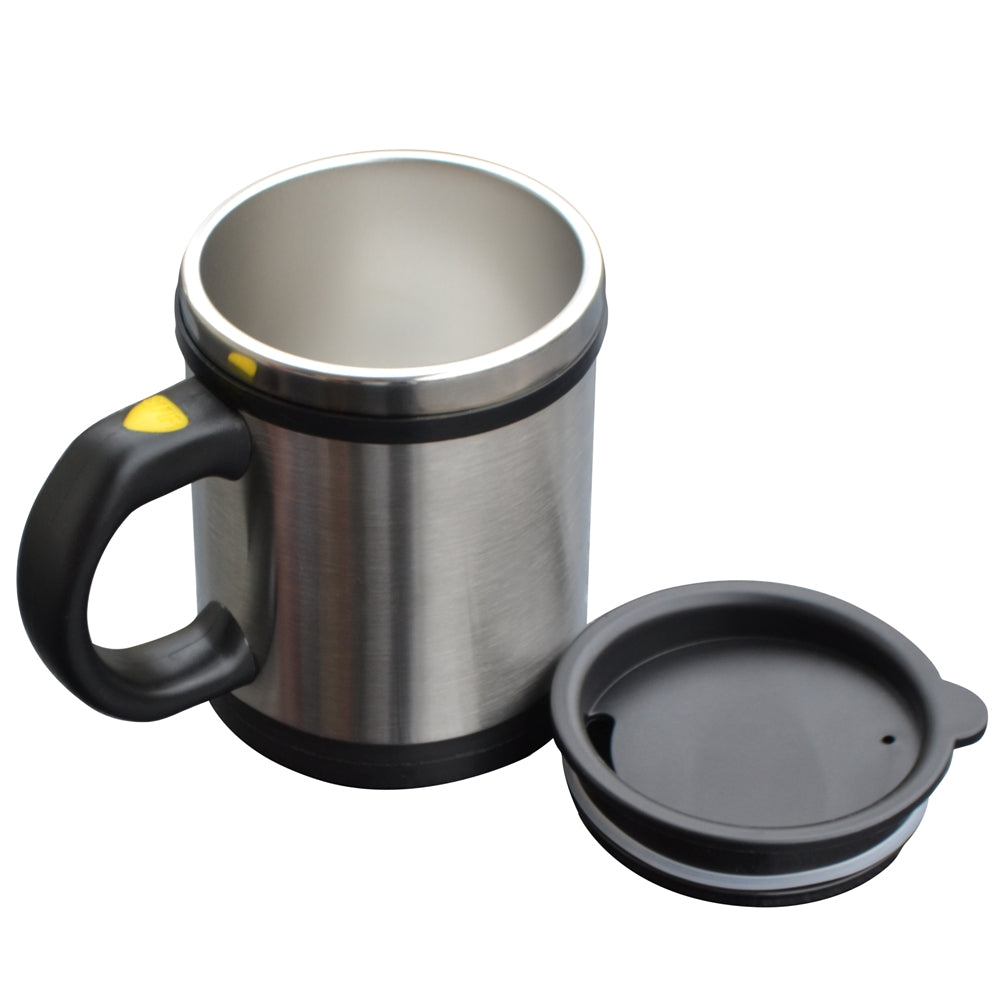 Double Stainless Steel Automatic Mixing Mug