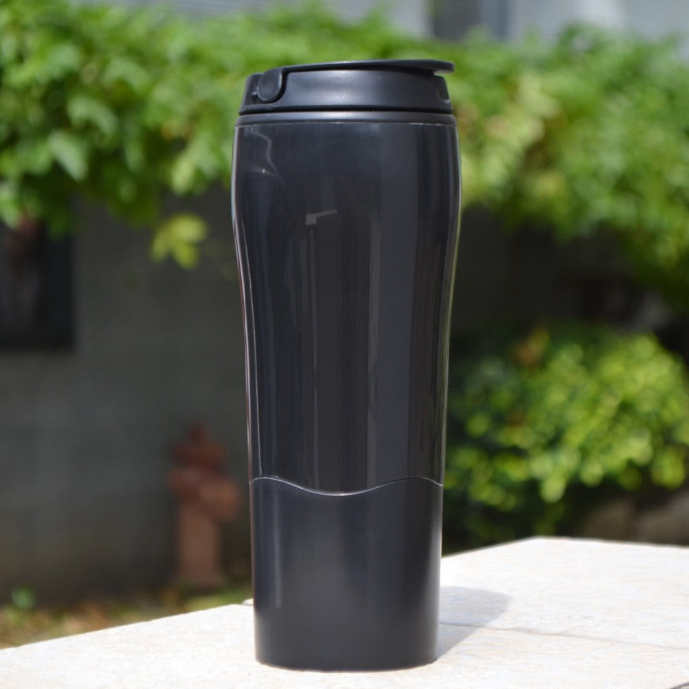 BPA Free Double Wall Plastic Drink-Ware Bottle