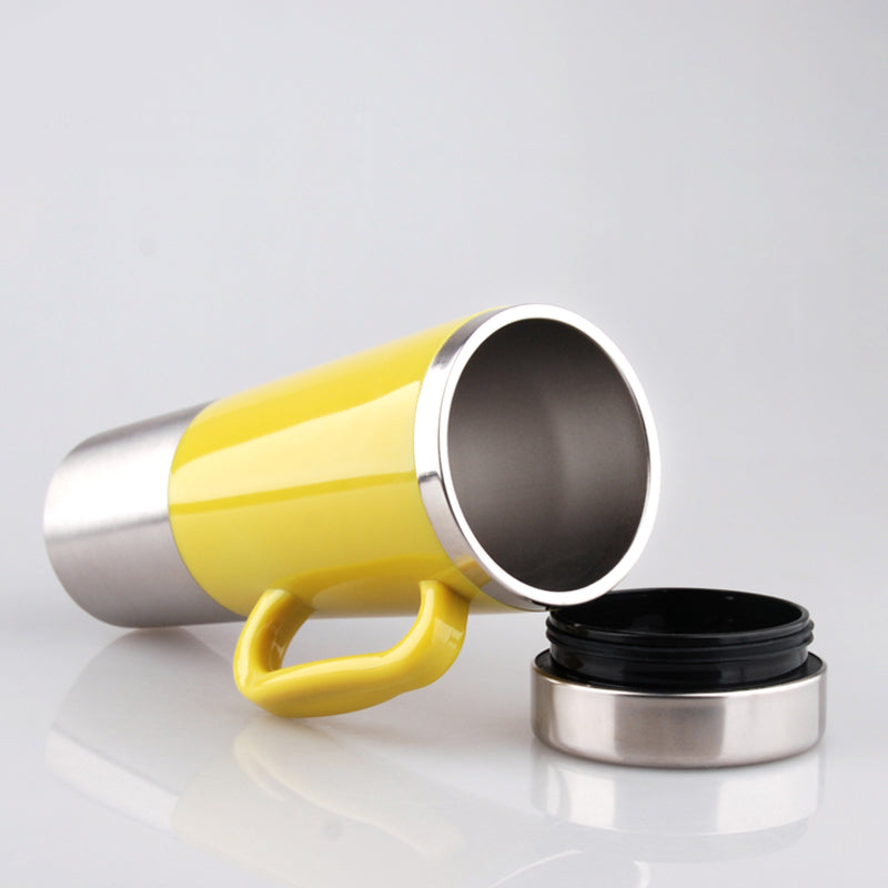 Stainless Steel Vehicle Mounted Electric Heating Mug, Drinkware Car Cigarette Lighter Ports