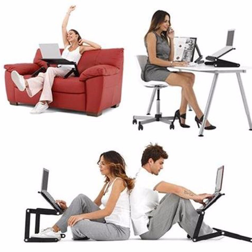 Portable Adjustable 360° Foldable Laptop Stand Desk