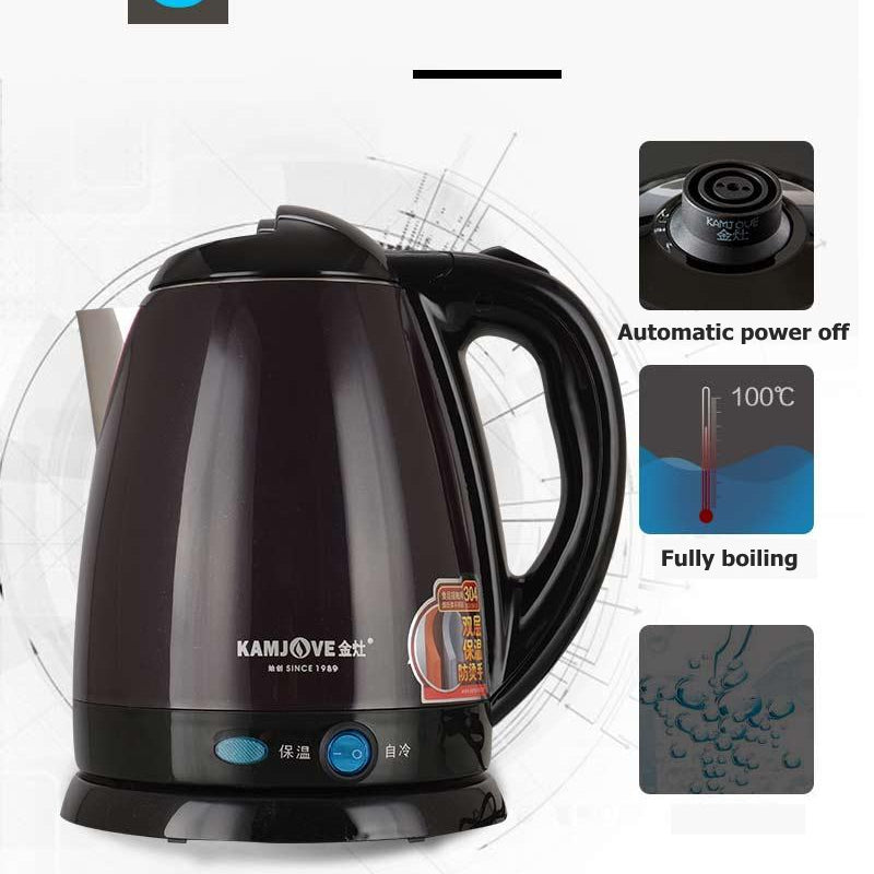 Stainless Steel High Power Electric Kettle