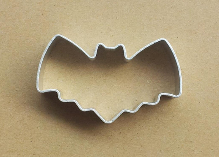 Bat Shape Metal Cookie Biscuit Cutter