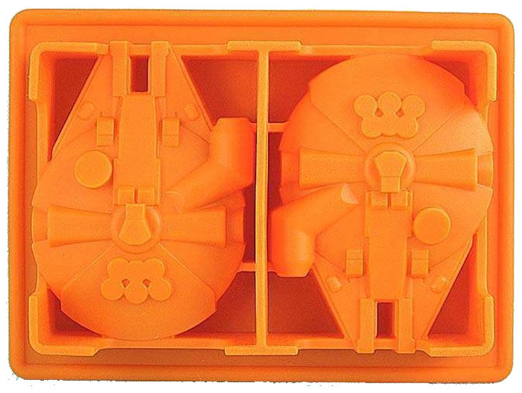 Silicone Mold Ice Cube Tray 6Pcs