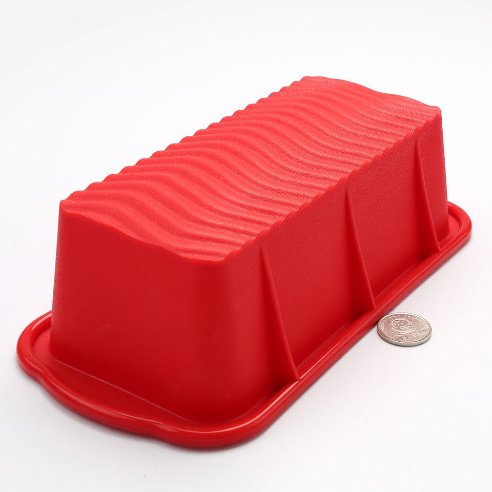 DlY 3D 25.5*13*7cm Rectangle Silicone Cake Mold