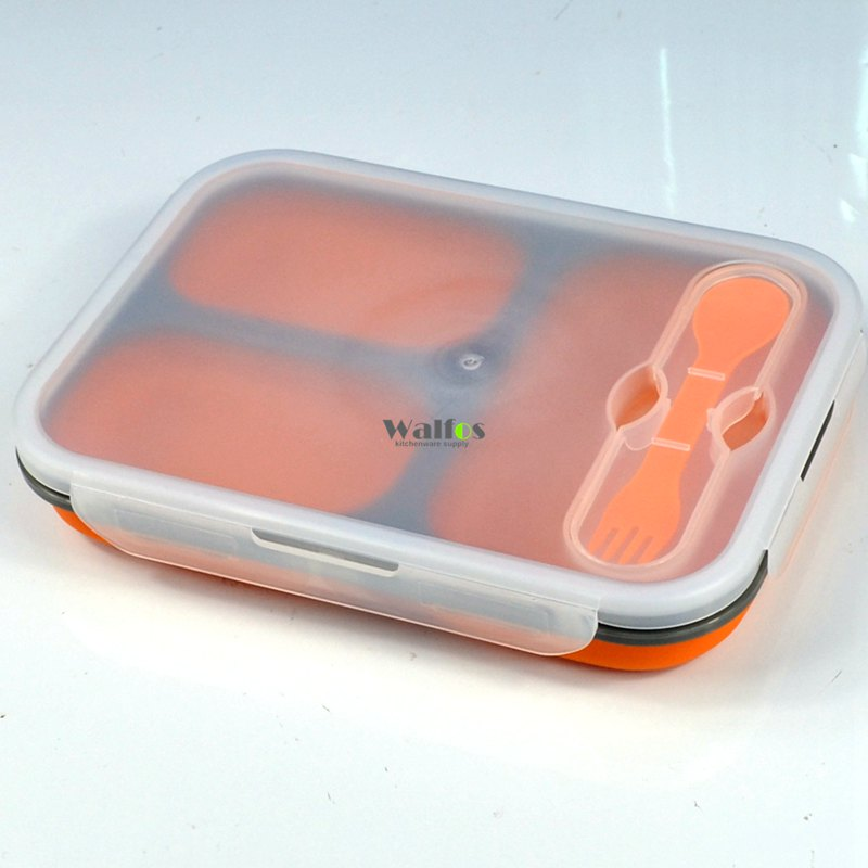 3 Compartments Lunch Box Set